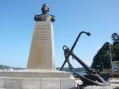 ぺりー上陸の碑